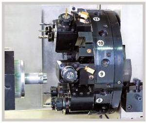 Токарный станок с ЧПУ с приводным инструментом TC6/18M